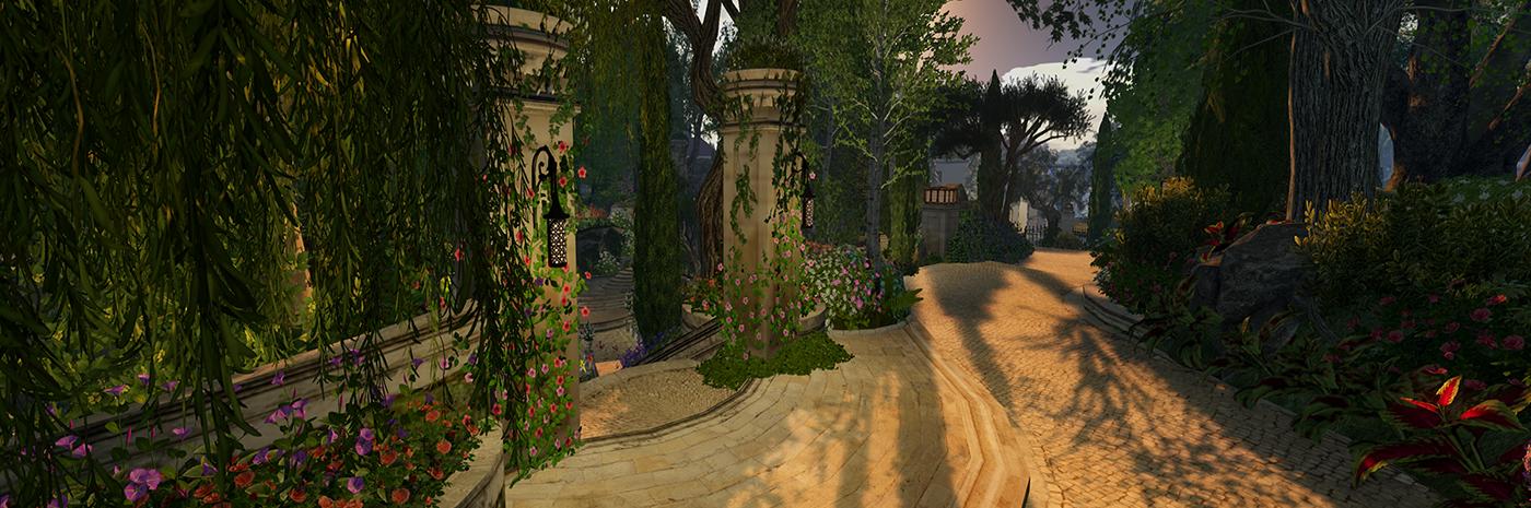The Grove Sunken Garden 0003